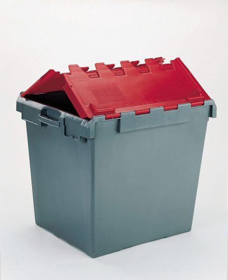 165 Litre Computer Crate Lidded
