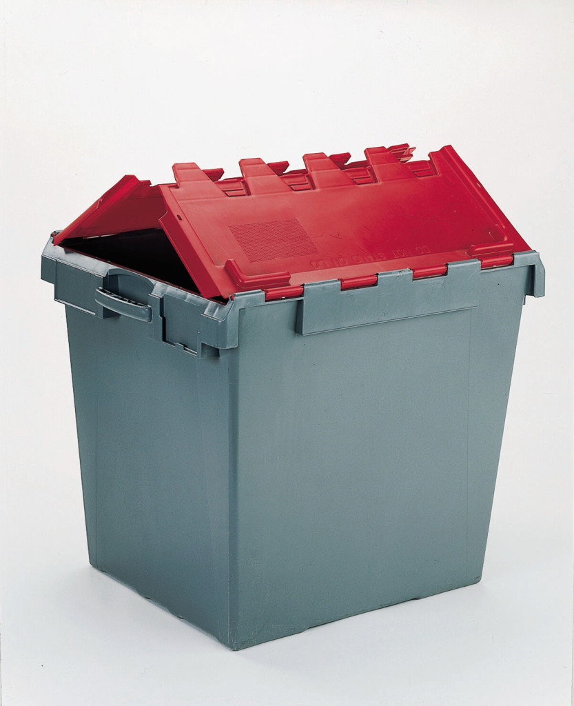 165 Litre Computer Crate Lidded