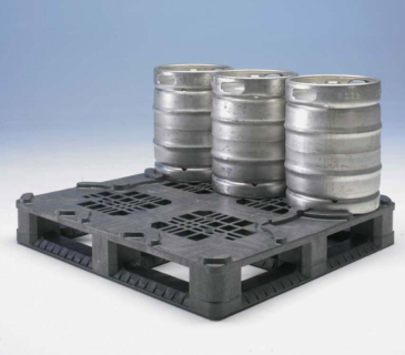 Irish Box Company Keg Plastic Pallet 1