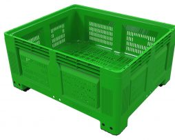 Agri log ventilated produce box
