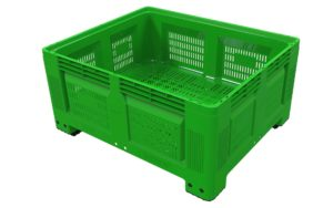 Agri log ventilated produce box